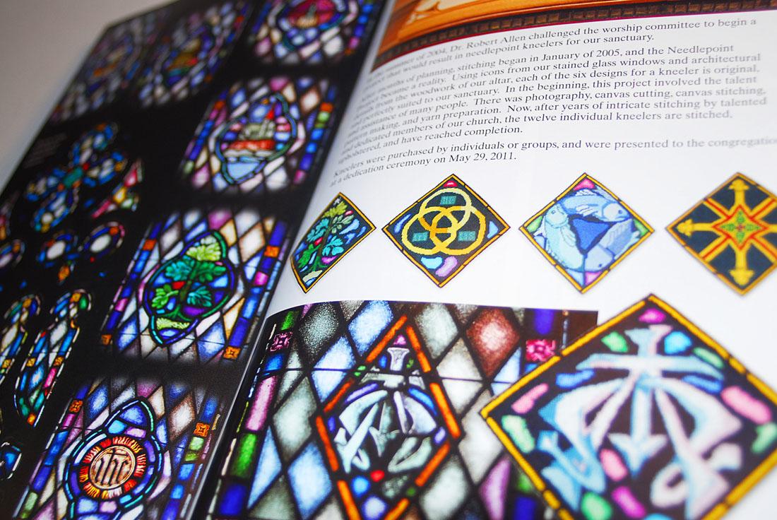 First United Methodist Church Booklet Design