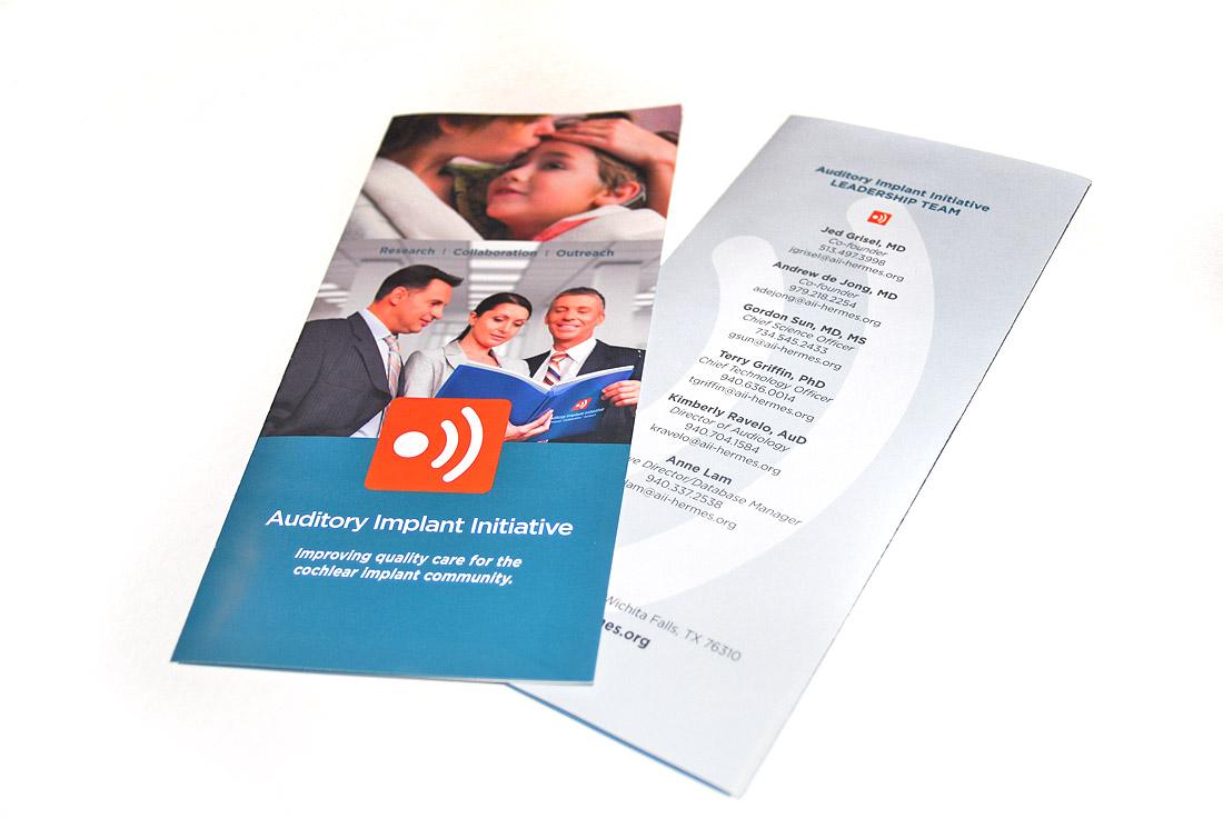 Auditory Implant Initiative Brochure Design