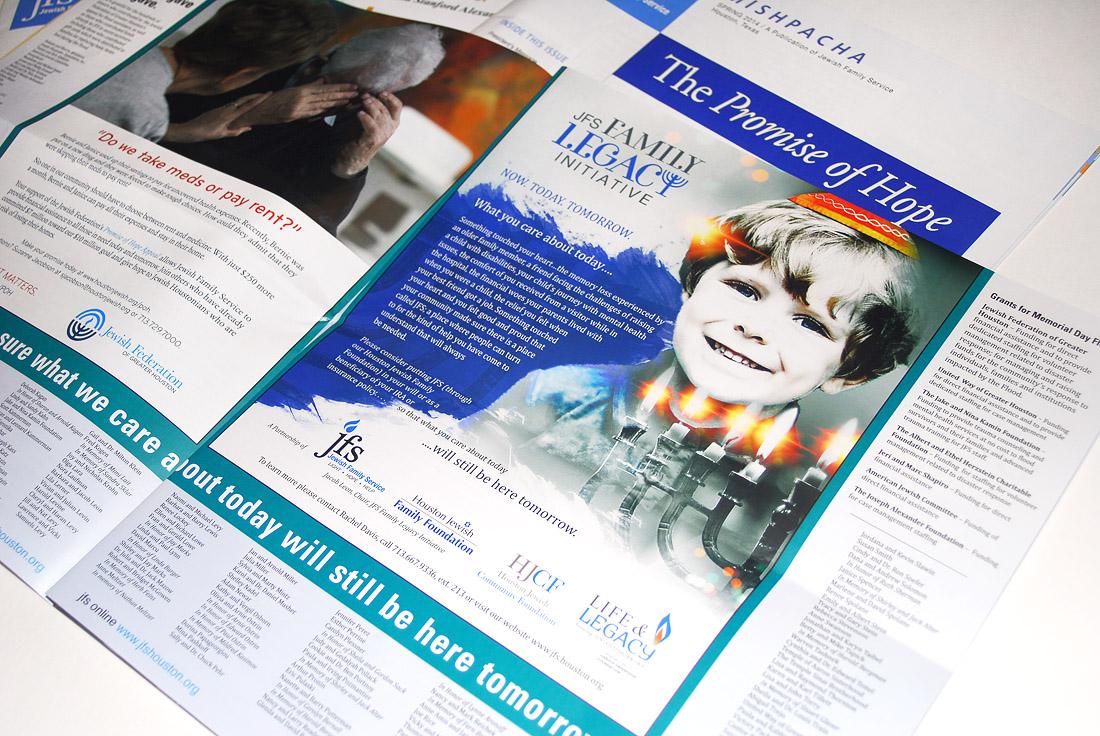 JFS Mishpacha Newsletter Design