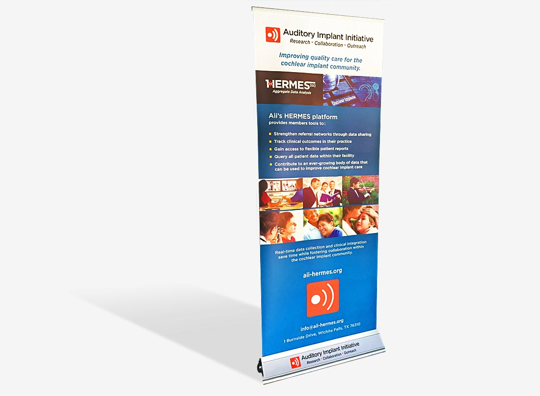 pop-up banner Design