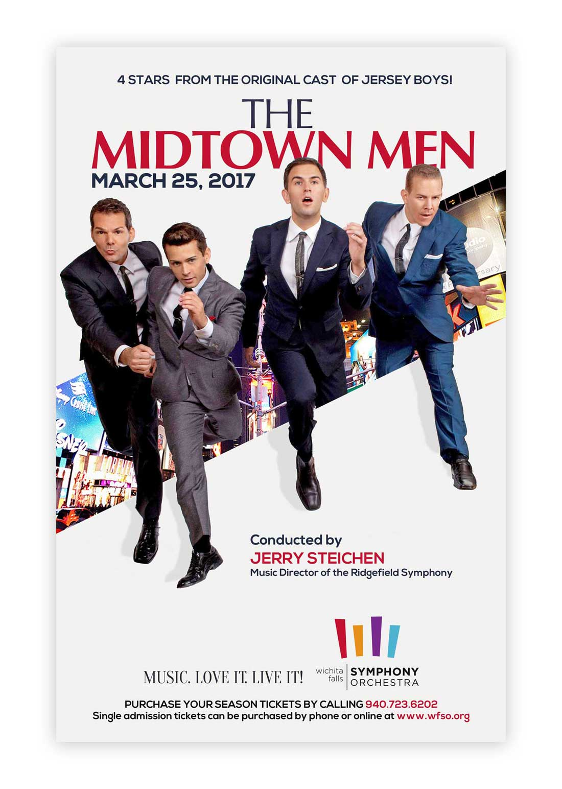 The Midtown Men Poster Design