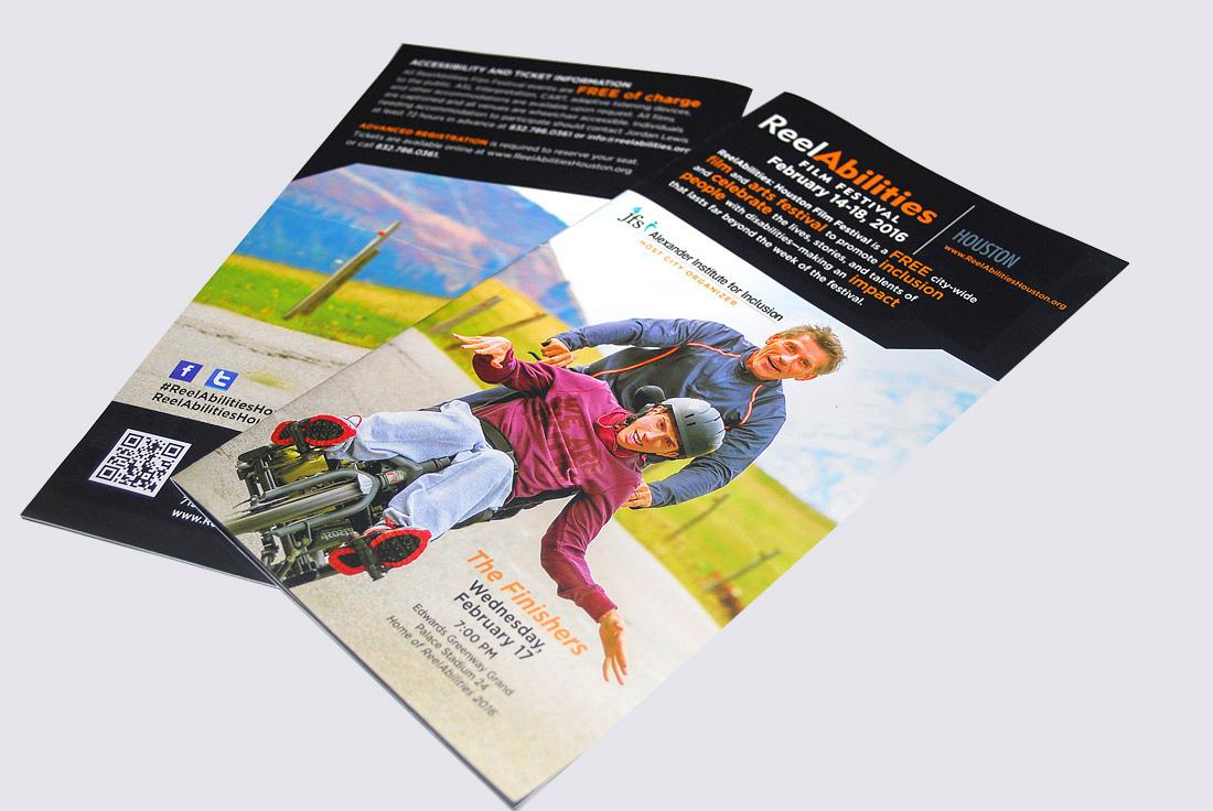 Reelabilities Houston Brochure Design