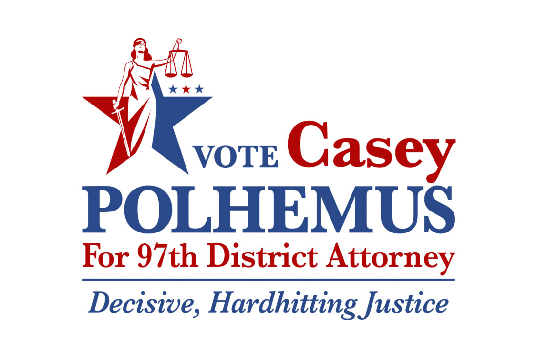 Vote Casey Polhemus political Logo Design