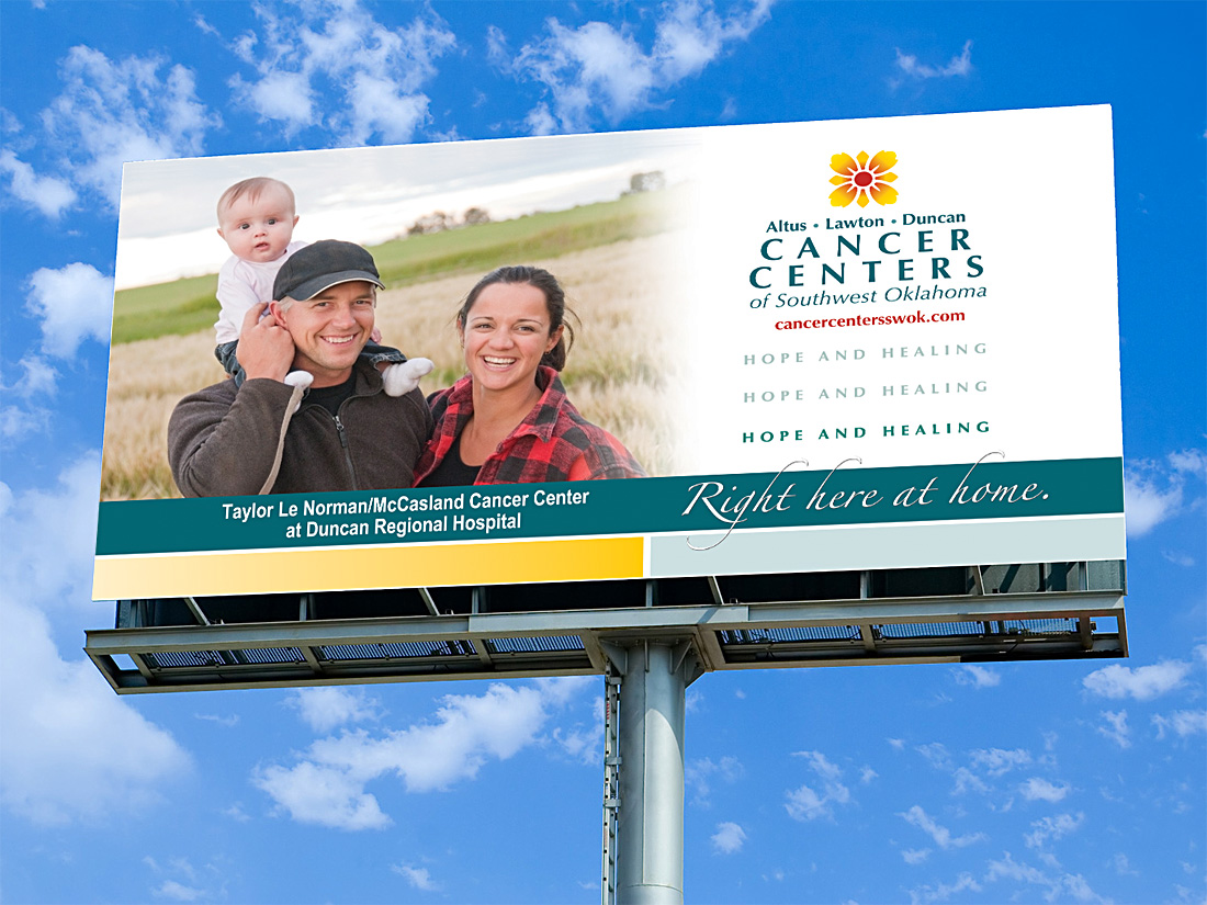 Cancer Centers Billboard Design