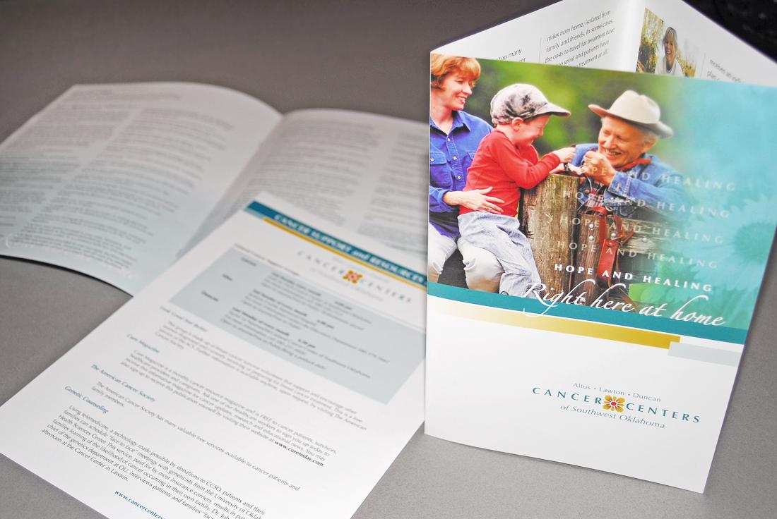 Cancer Centers Brochure Design