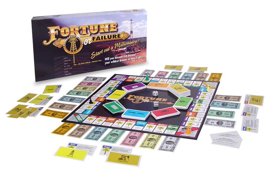 Fortune or Failure Game Board Design
