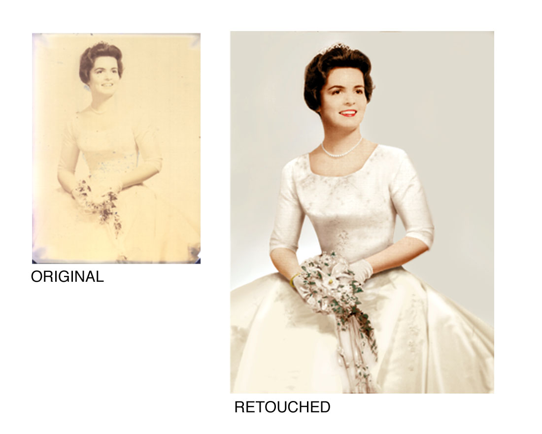 Photo Retouching and Restoring