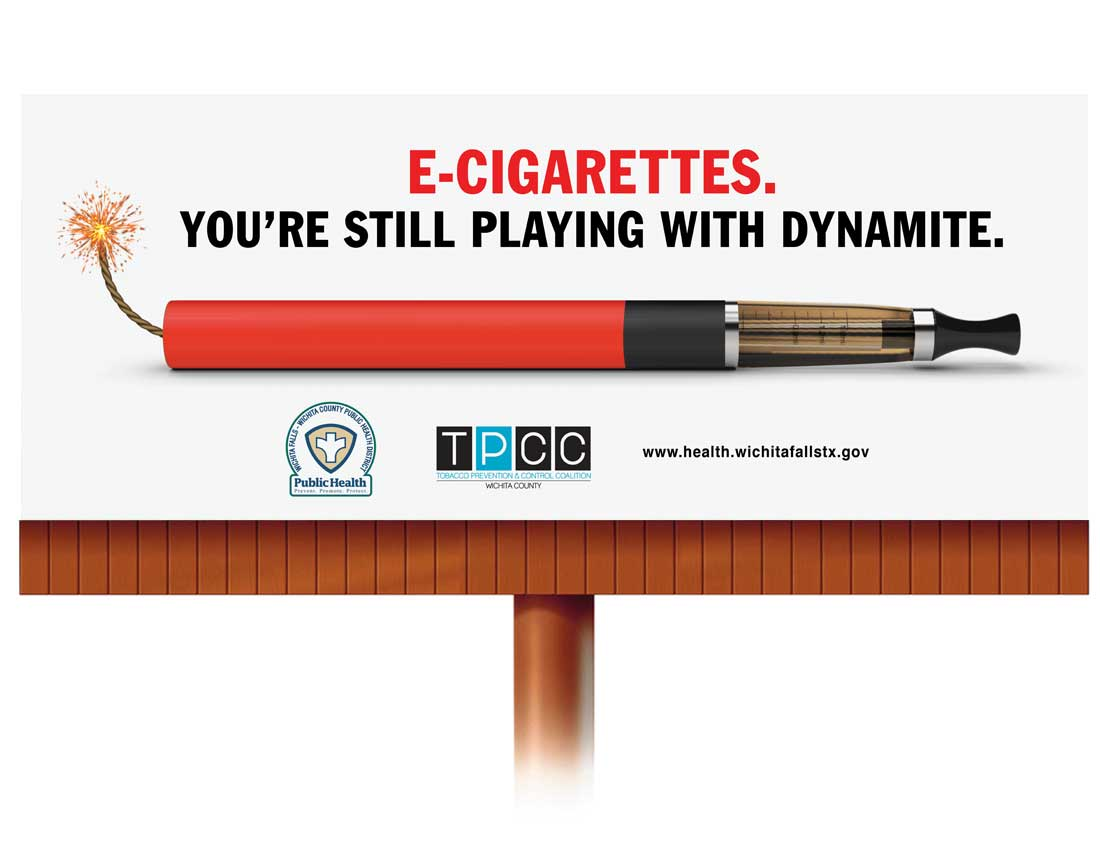 E-Cigarette Billboard Design