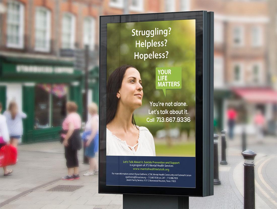 Mental Health Campaign Poster Design