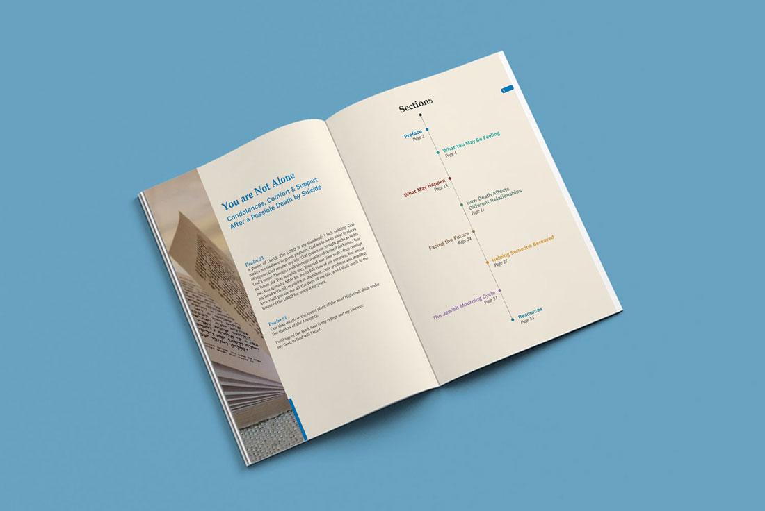 JFS Mental Health Brochure Design