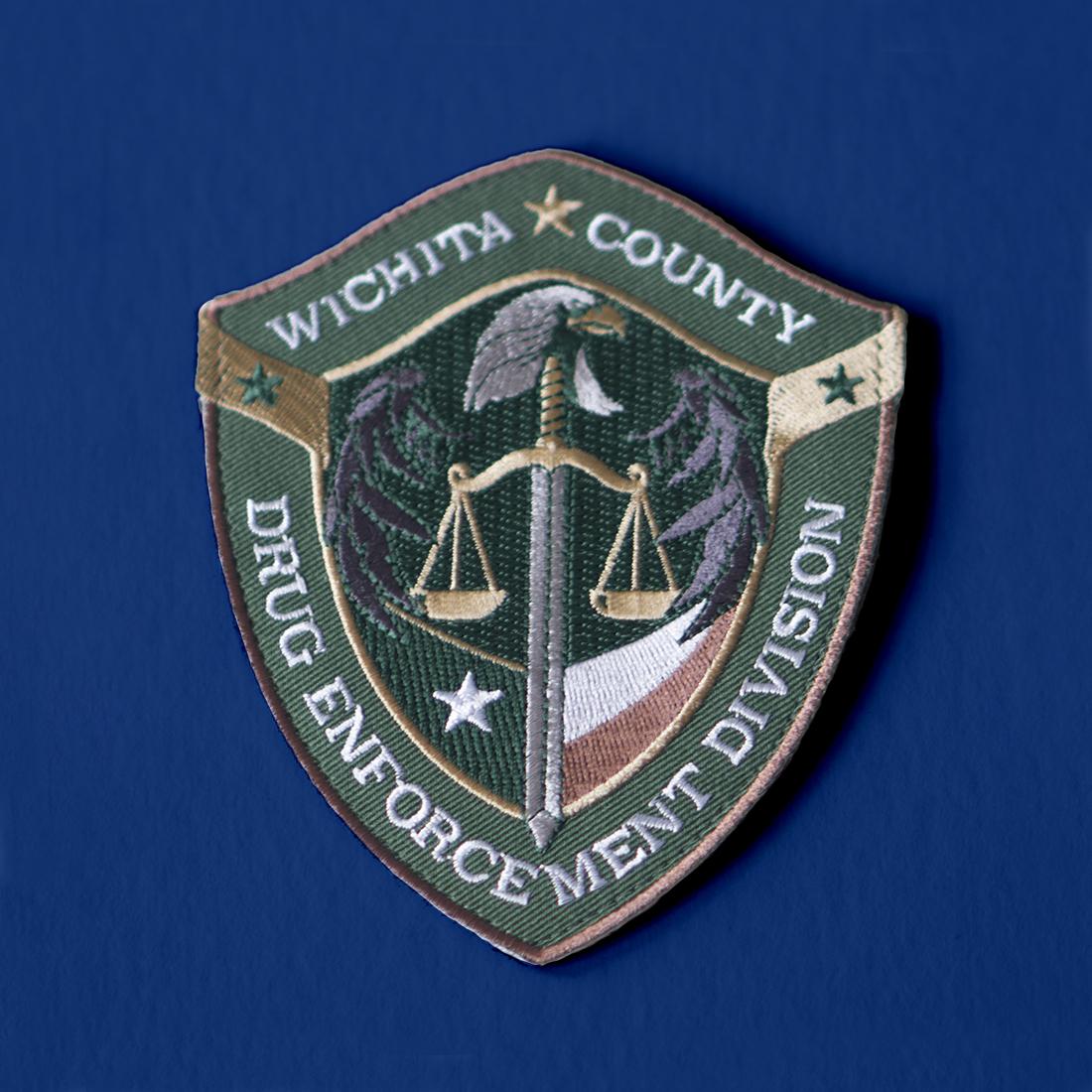 Wichita Falls District Attorney patch design