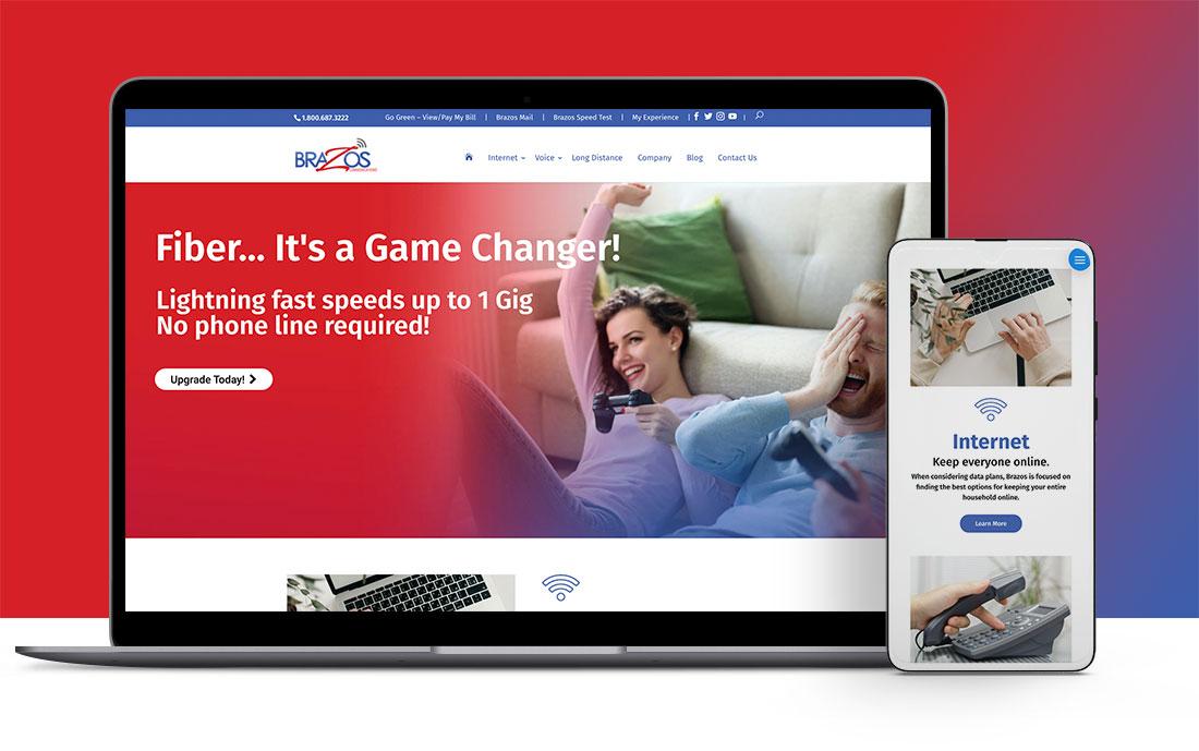 brazos website design and development