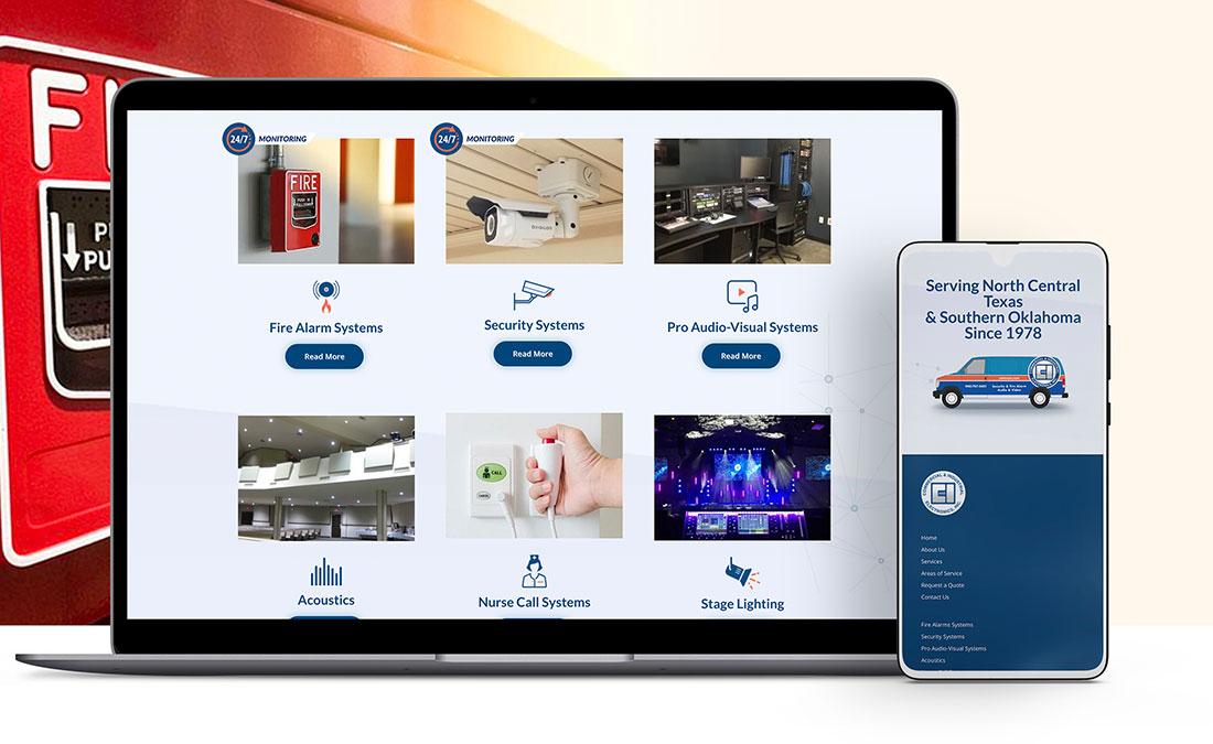 cietexas website design and development