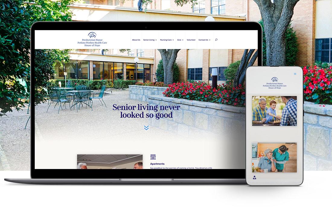 presmanor website design and development